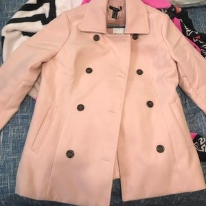 Pink size M forever 21 coat.